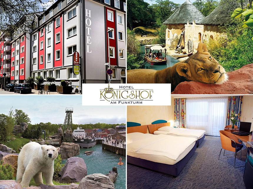 Hannover - 3*S Hotel Königshof - 3 Tage für 2 Personen inkl. Frühstück