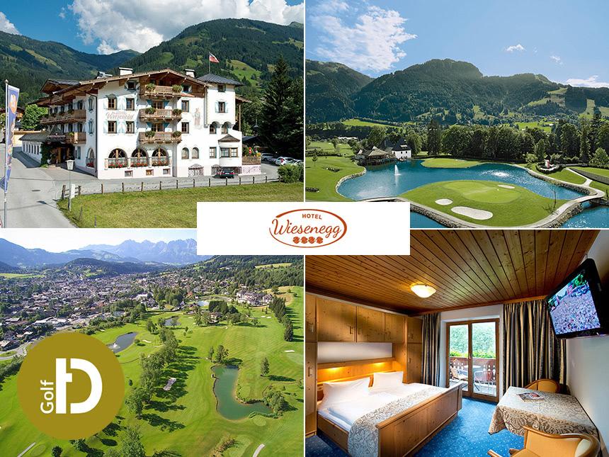 Kitzbühel - 3*Hotel Wiesenegg - 6 Tage für 2 Personen inkl. Halbpension