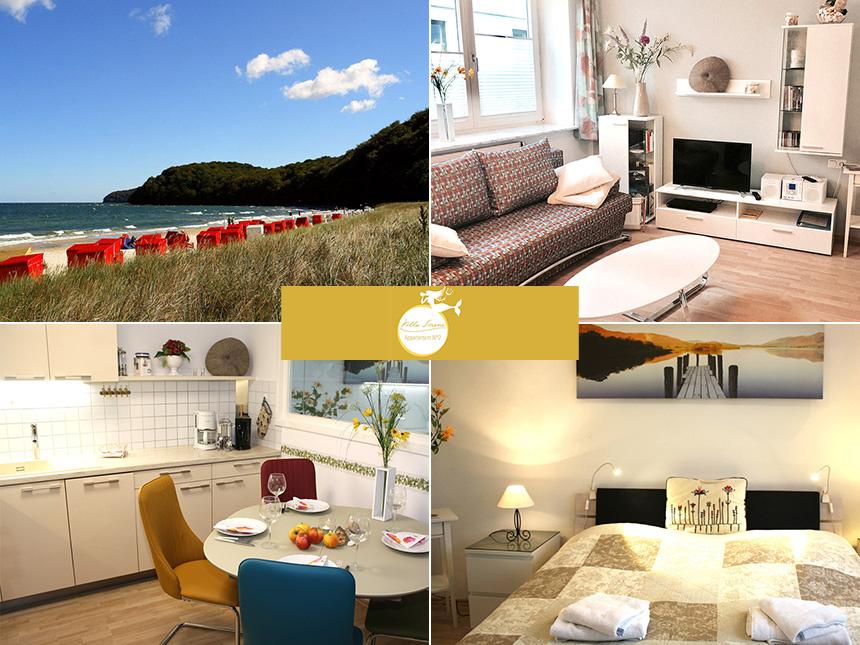 Ostsee - Ferienwohnung Villa Sirene - 6 Tage für 2 Personen