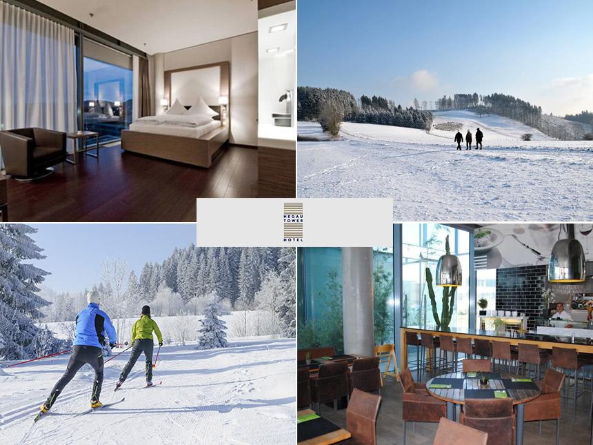 Bodensee - 3*Hegau Tower Hotel - 3 Tage für 2 Personen inkl. Halbpension