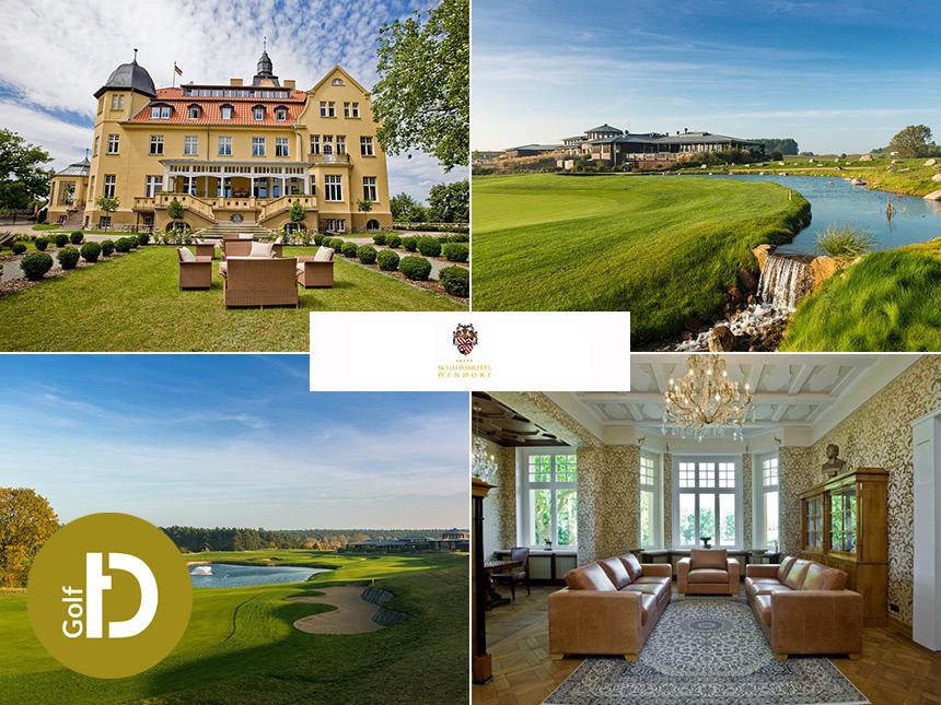 Schweriner See - 5*Schlosshotel Wendorf - 4 Tage zu zweit inkl. Frühstück