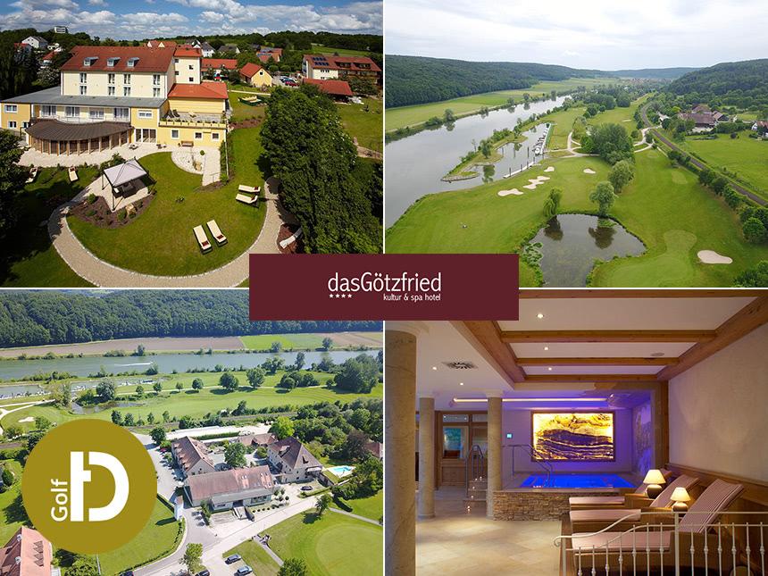 Donau - 4*Hotel das Götzfried - 6 Tage für Zwei inkl. 3/4-Pension