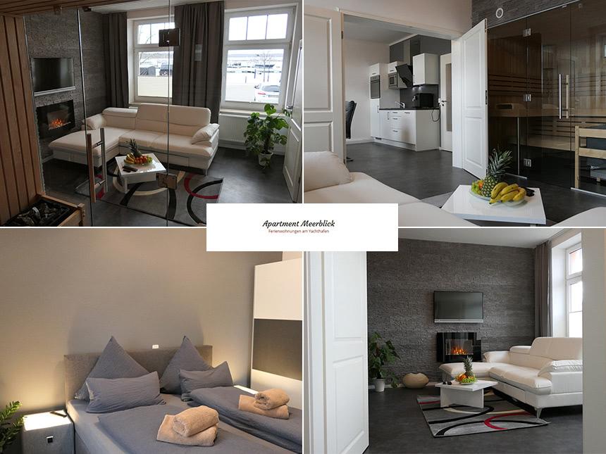 Meckl. Seenplatte - Appartement Meerblick - 6 Tage für 2 Personen