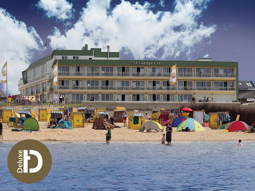 Nordsee - 5*Hotel Strandperle - 8 Tage für 2 Personen inkl. Halbpension