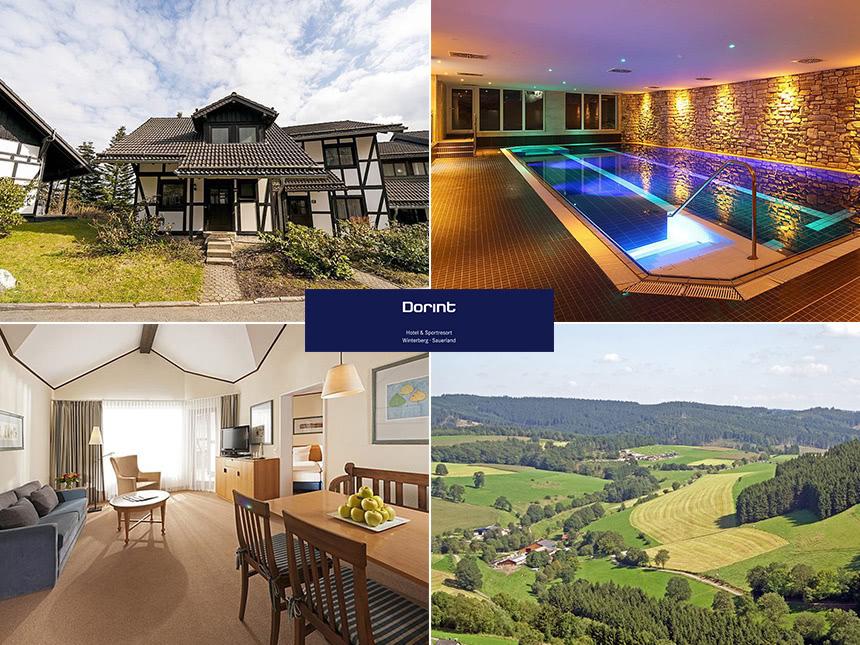 Sauerland - Dorint Hotel & Sportresort - 6 Tage für Zwei in einer Ferienwohnung