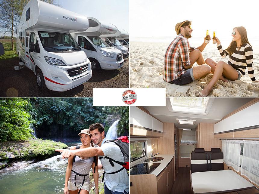 Dümo-Reisemobile - 14 Tage für 2-6 Personen im Reisemobil