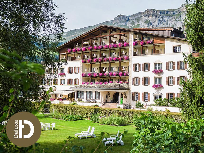 Graubünden - 4*S Hotel Adula - 8 Tage für Zwei inkl. Halbpension